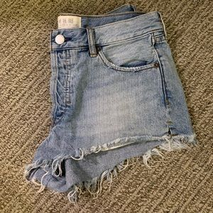 Free People denim shorts, size 4